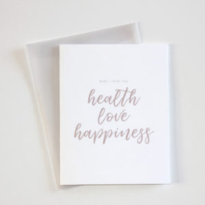 Health Love Happiness